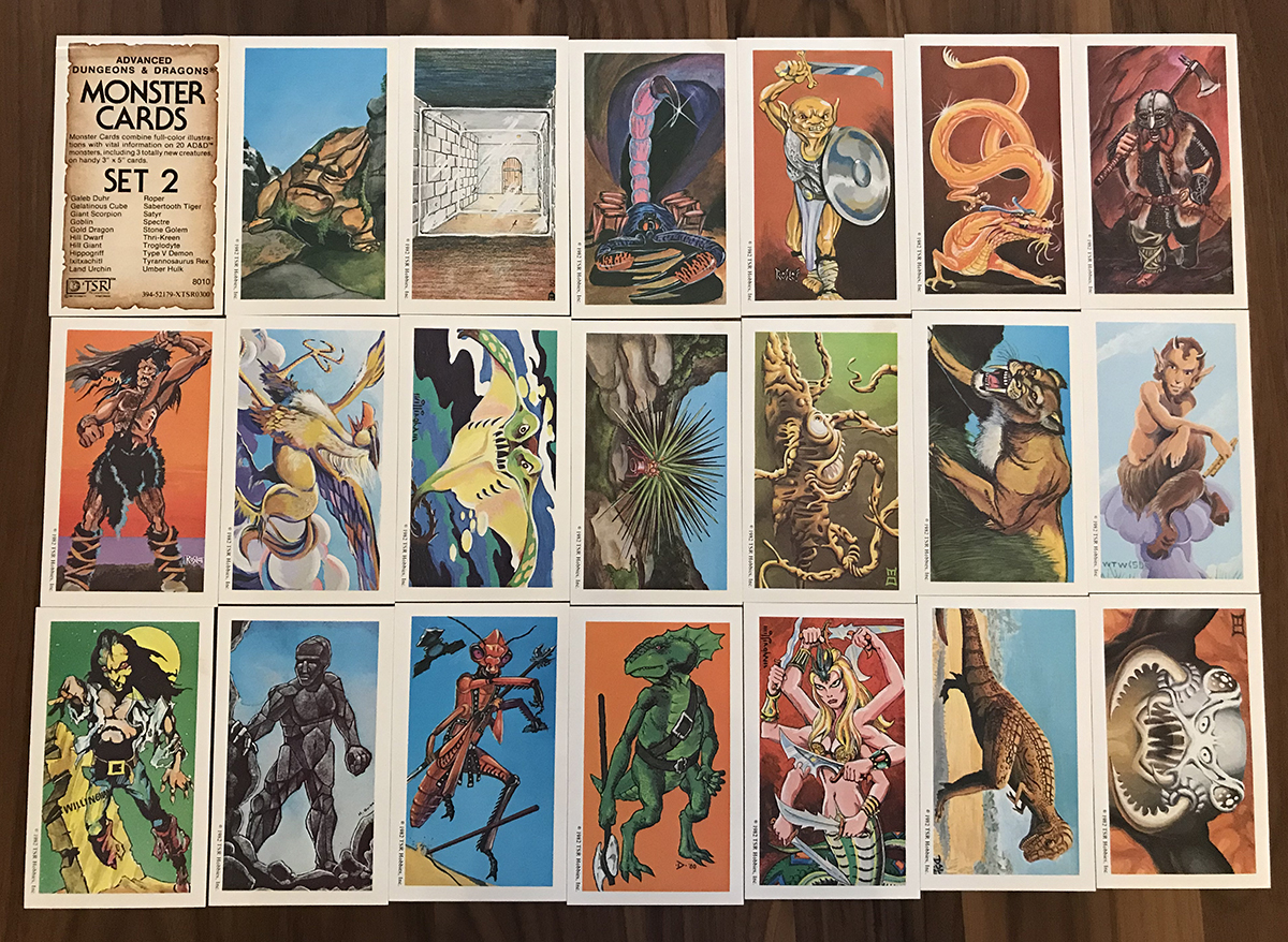AD&D Monster Cards Set 2