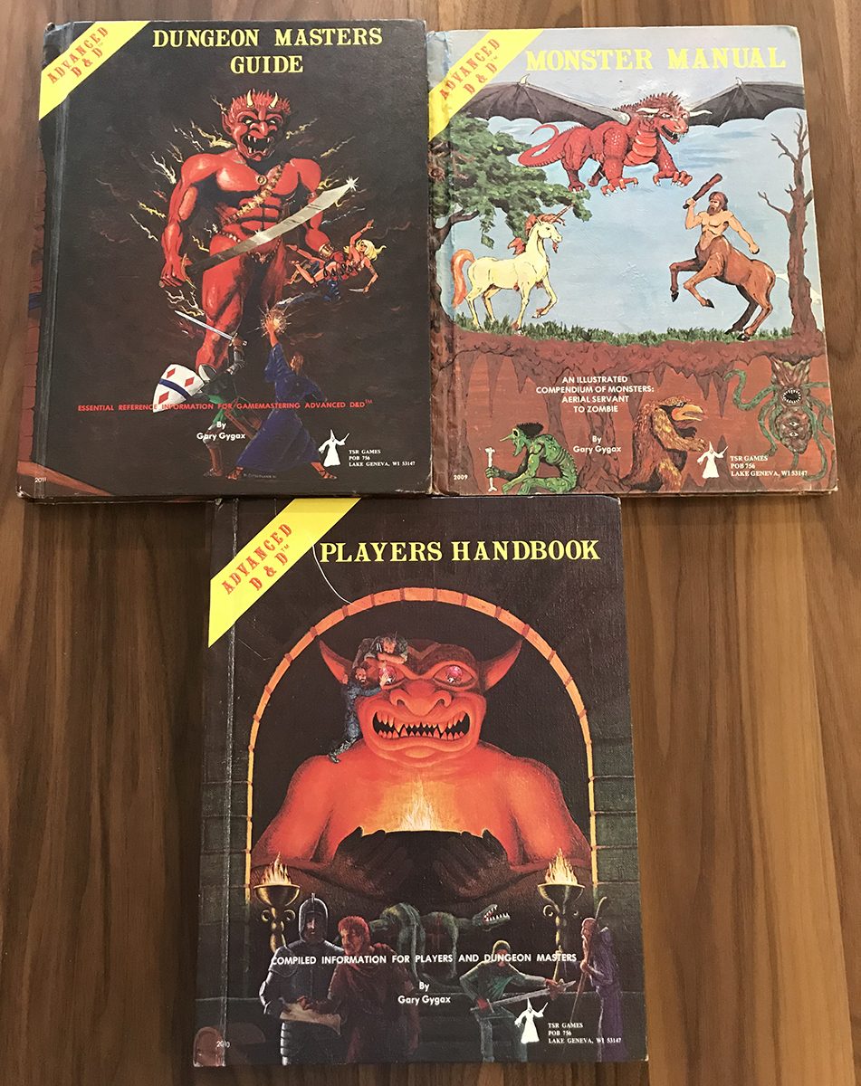 The trifecta of AD&D goodness!