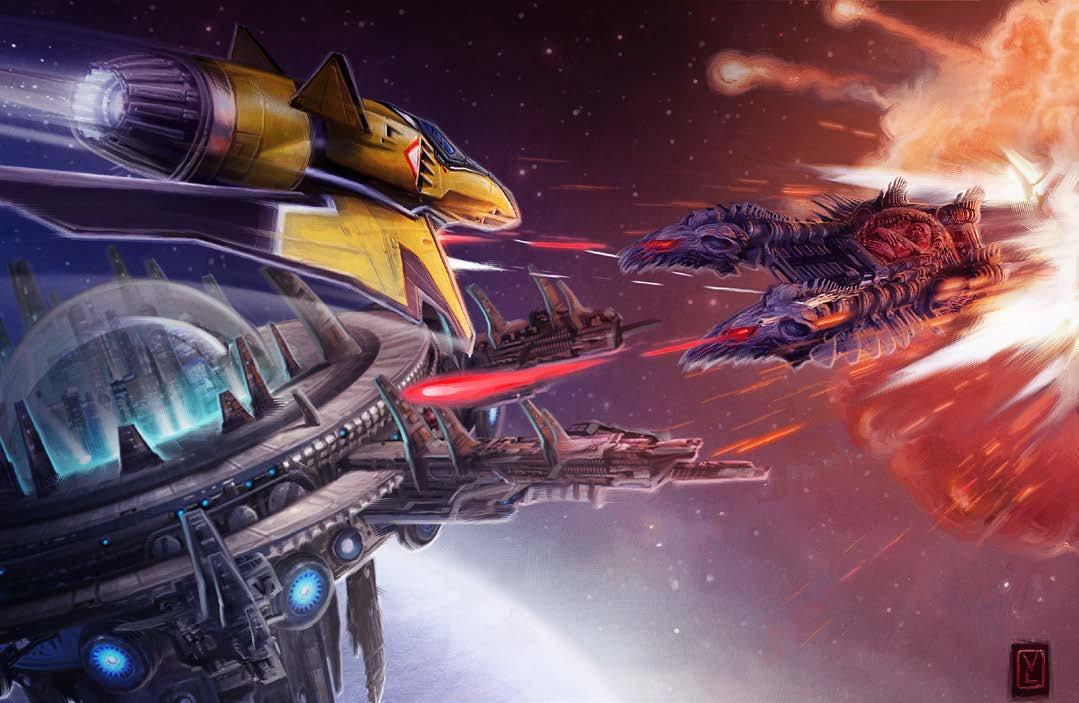 Starfinder Space Combat