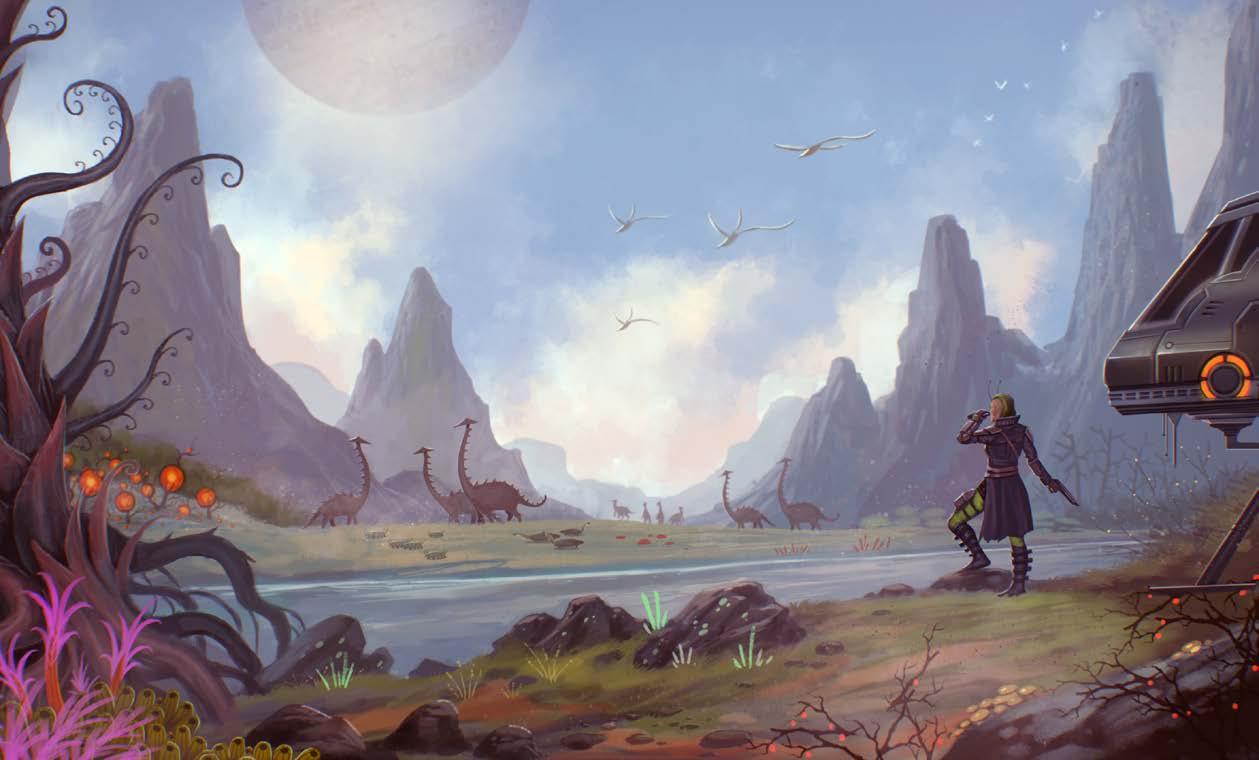 Starfinder Landscape