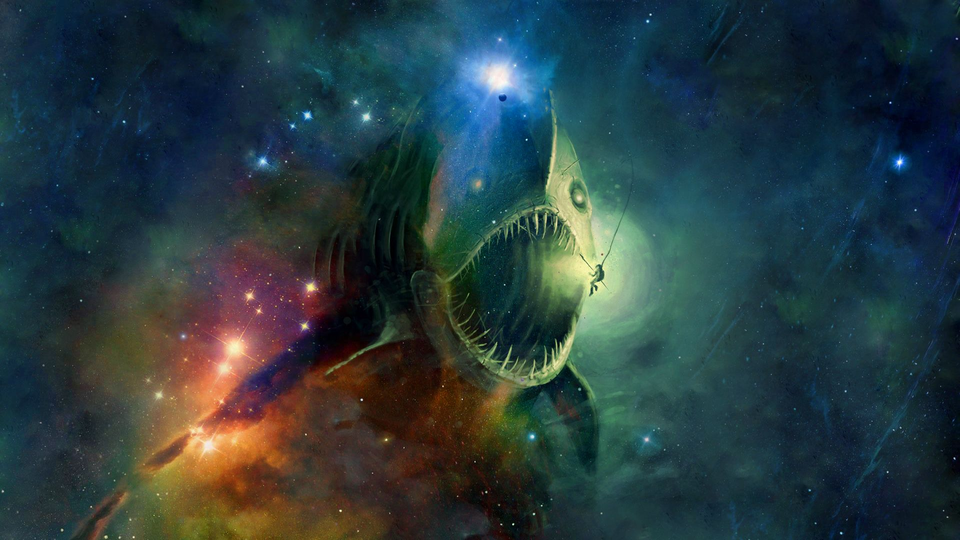 space-fishing