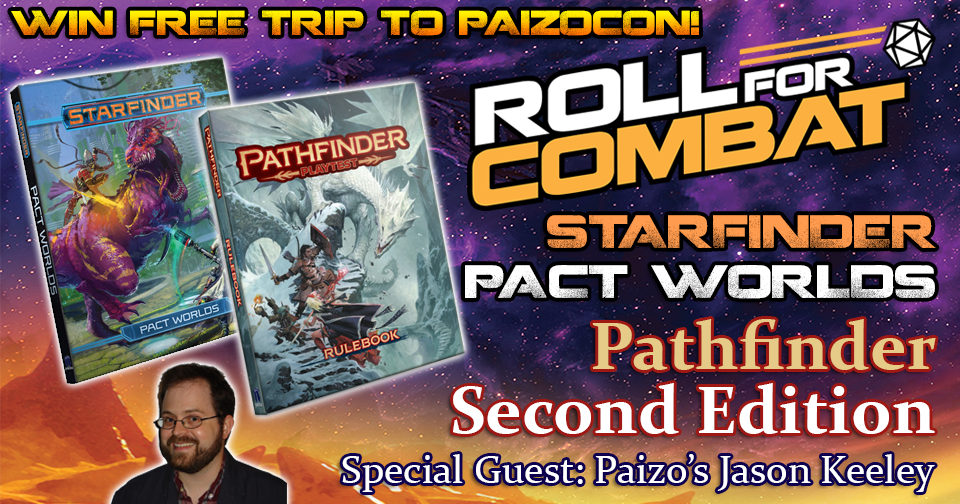 Pact Worlds Starfinder Playtest PaizoCon