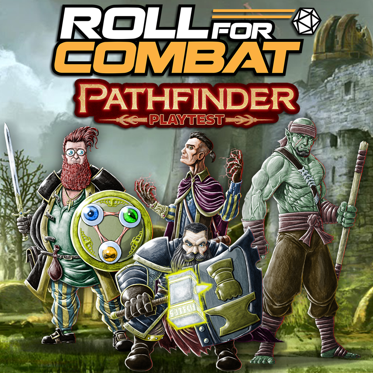 Pathfinder Playtest Review – Roll For Combat Podcast: A