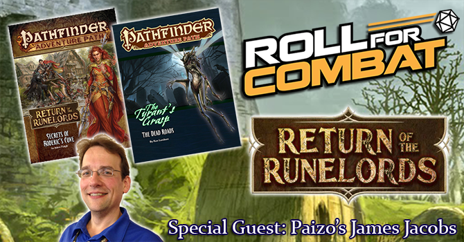 Interview with Paizo Pathfinder Creative Director James Jacobs